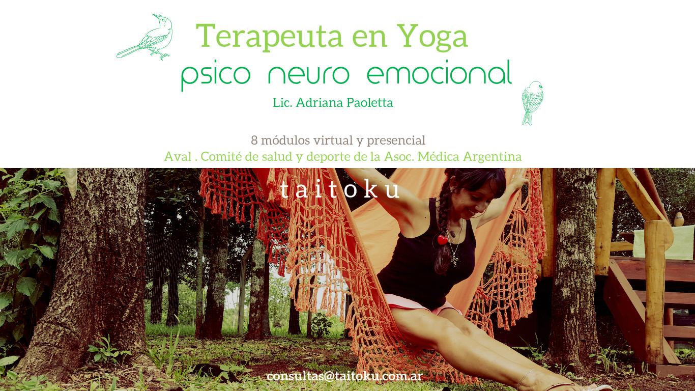 Terapeuta en Yoga psico neuro emocional