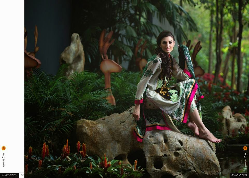 Spring Lawn Prints Collection 2015