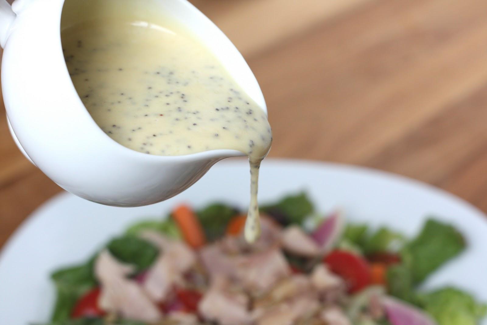 Barefeet In The Kitchen: Honey Mustard Poppyseed Salad Dressing