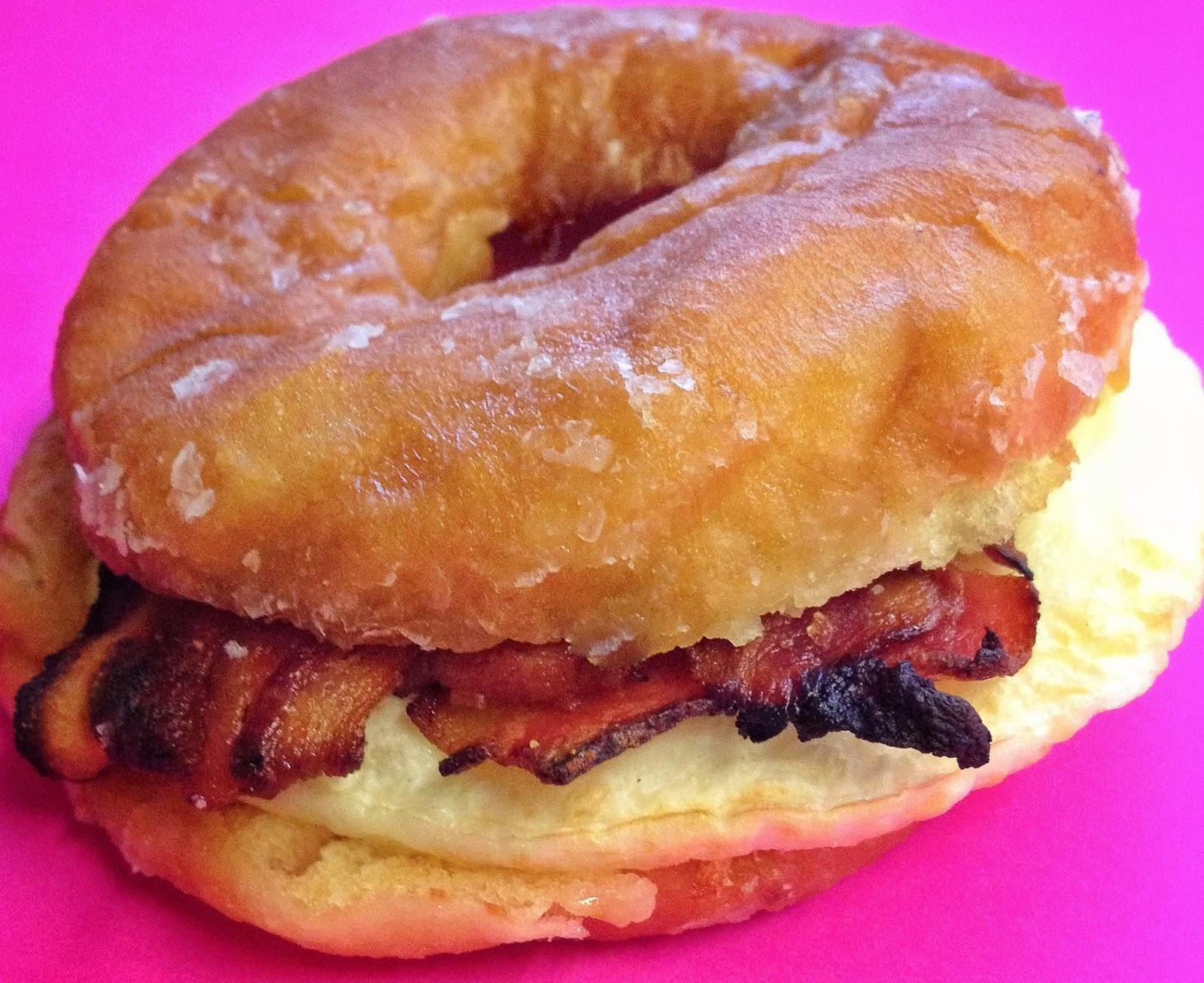 Donut Bacon Sandwich Sandwich Bacon Egg
