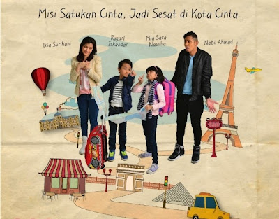 Strawberi dan Karipap Sesat Kat Paris (2014), Tonton Full Telemovie, Tonton Telemovie Melayu, Tonton Drama Melayu, Tonton Telemovie Online