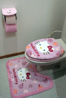 Hello Kitty toilet