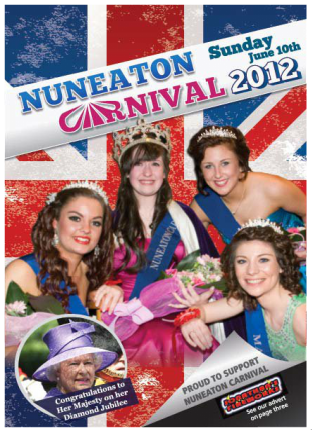 Programme cover 2012