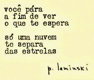 Você para - Paulo Leminski