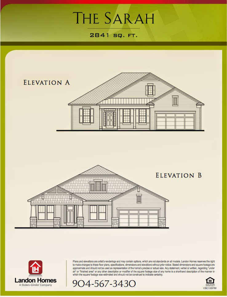Landon Homes : Make it just the right size: Featuring \'The Sarah ...