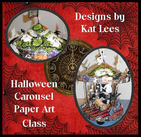HALLOWEEN PAPER ART CLASS