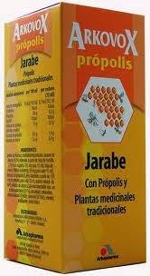 Arkovox jarabe de Propolis o propoleo
