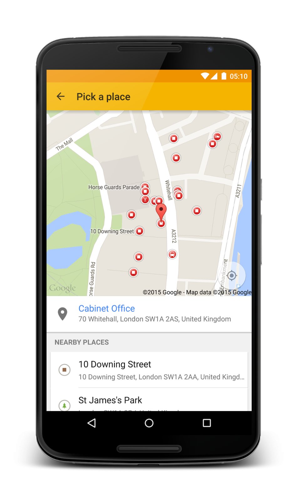 Places API for android