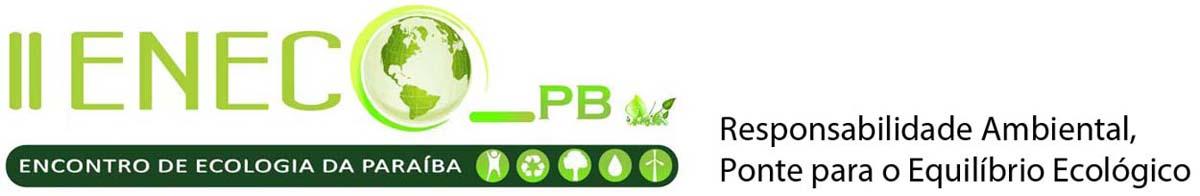 Eneco PB- II Encontro de Ecologia da Paraíba