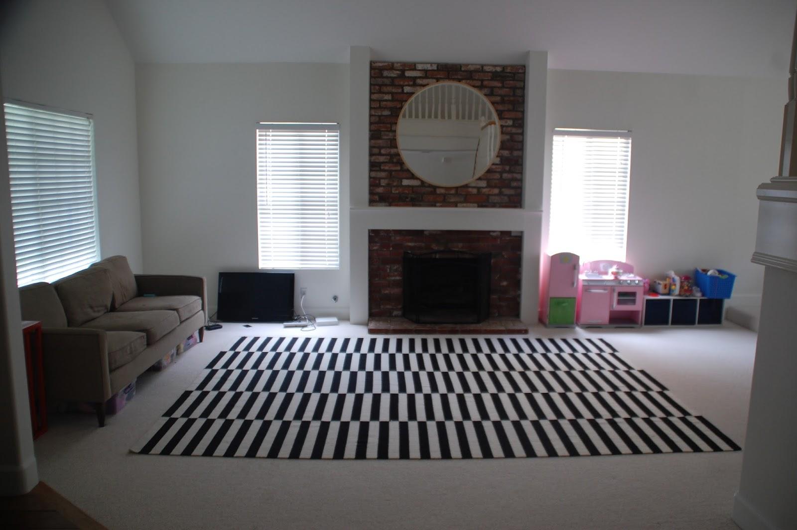 No Furniture Living Room Lisa Moves July 2013