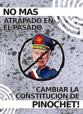 Cambiar la constitución de Pinochet