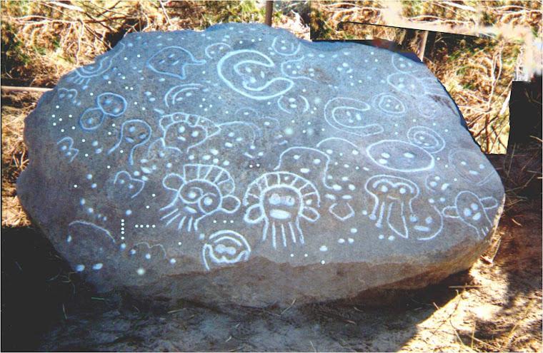 Petroglifos de la región de Caguax