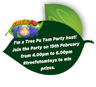 Flair toys, Tree Fu Tom toys, Tree Fu Tom