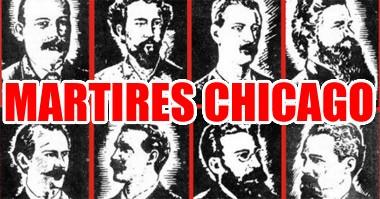 * Reconocimiento a los mártires de Chicago