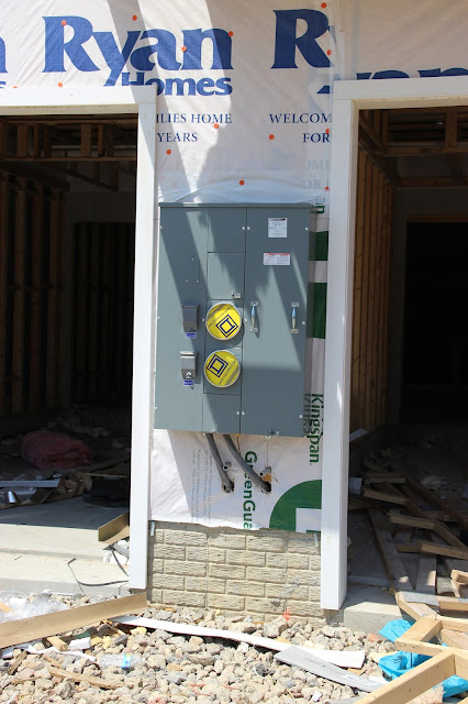 Ryan Homes meter box