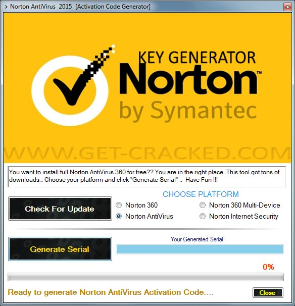 norton antivirus crack keygen