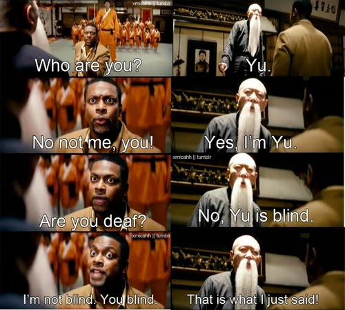 My Name Is Yu, He's Mi - Rush Hour 3 Funny Clip
