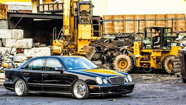 mercedes w210 custom