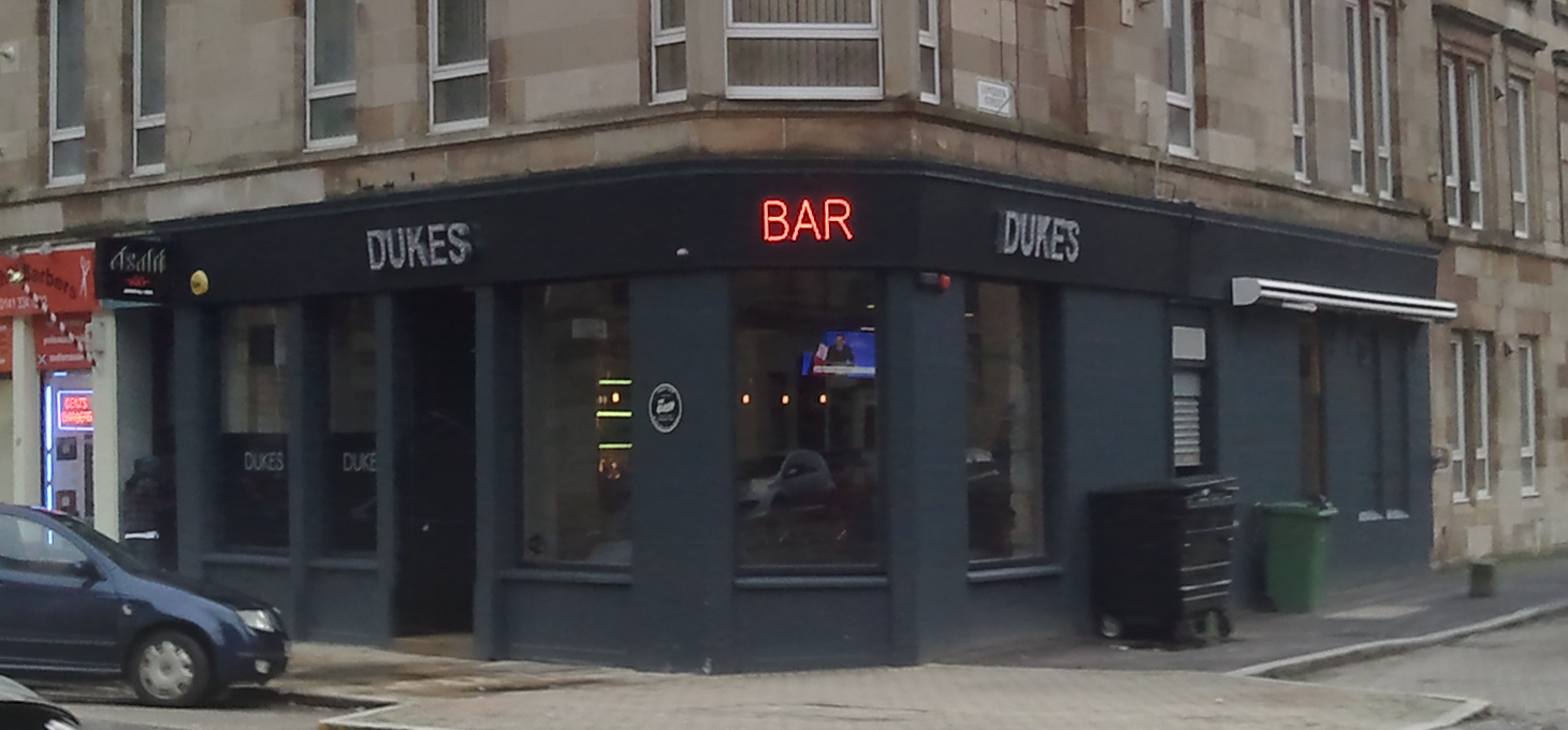 Dukes Bar, Glasgow