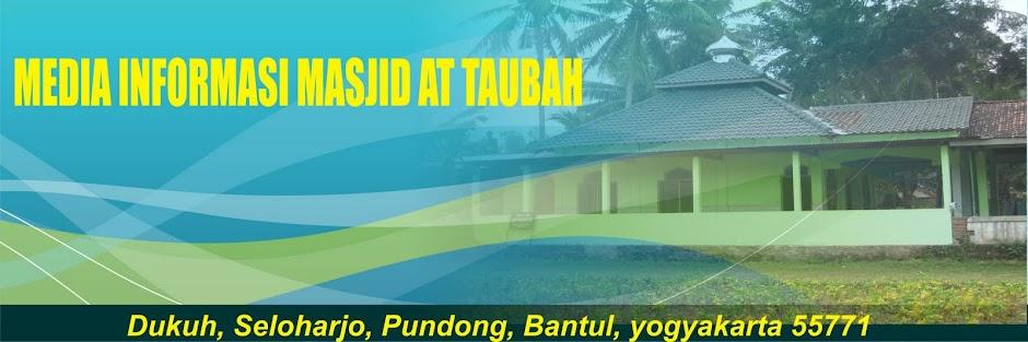 MASJID AT TAUBAH DUKUH SELOHARJO PUNDONG BANTUL