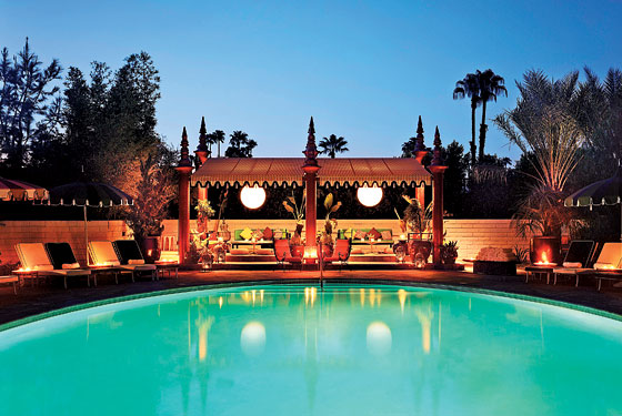 Parker Palm Springs Spa Menu