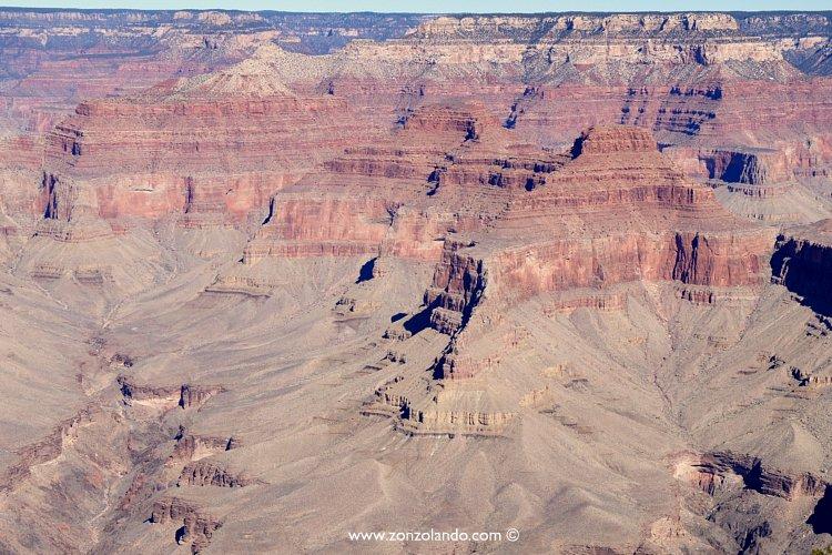 Grand canyon gennaio 2013 zonzolando for Grand canyon north rim mappa della cabina