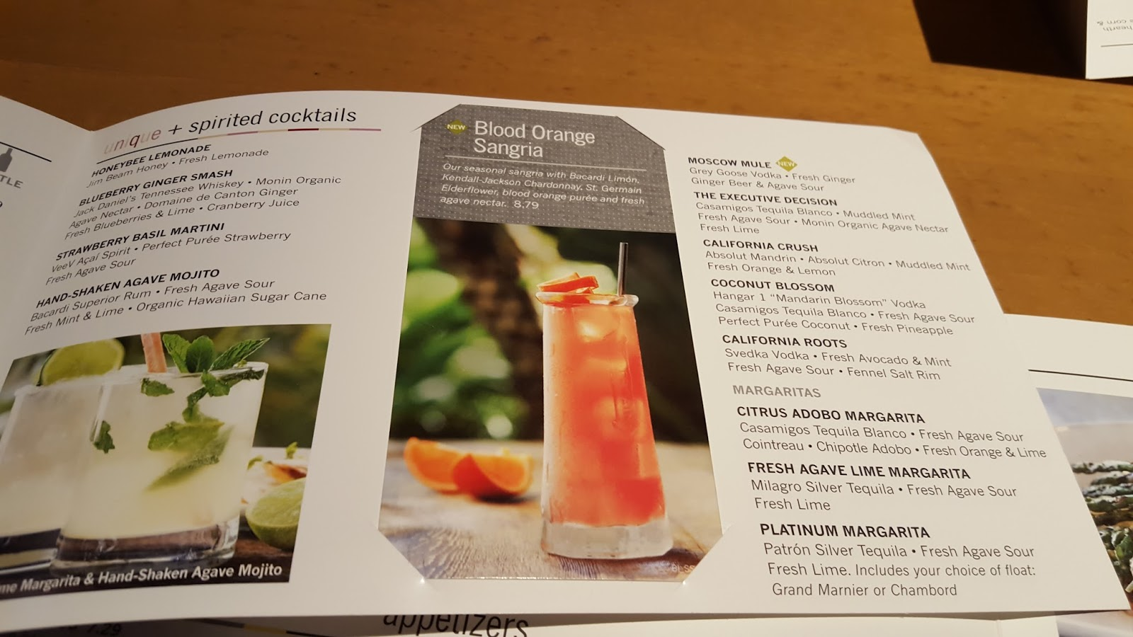 California Pizza Kitchen Drink Menu girly girl giveaways: california pizza kitchen restaurant review