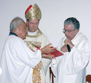 Dom Joaquim Wladimir Lopes Dias e Frei Toninho