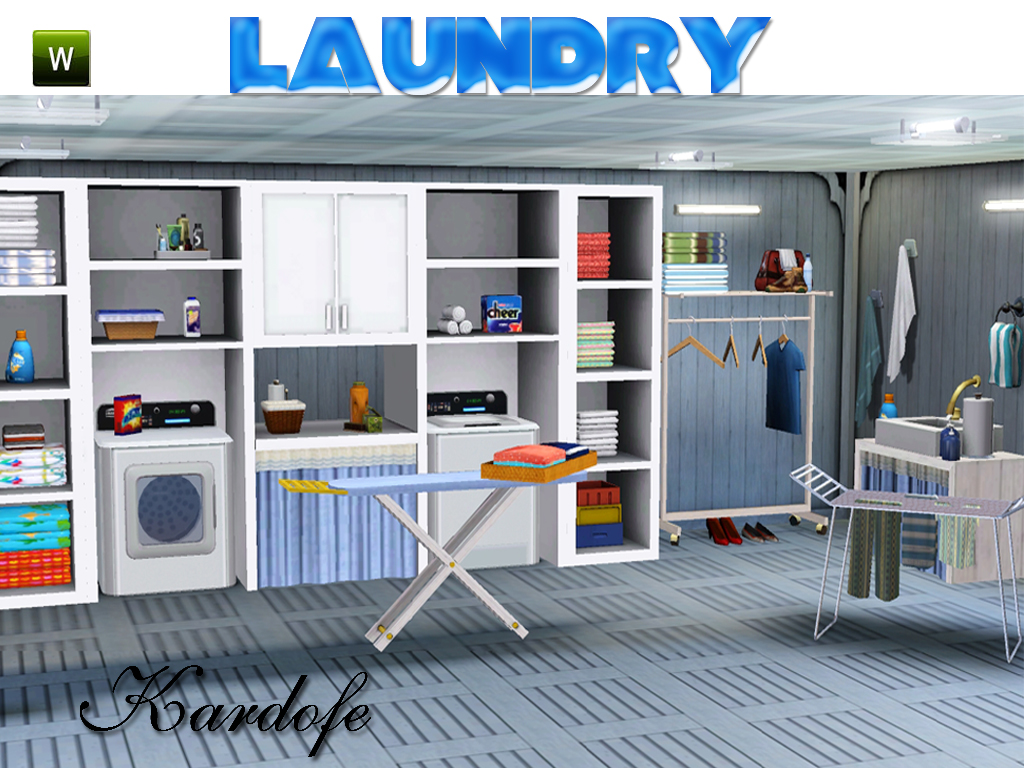 My Sims 3 Blog Laundry Room Set By Kardofe