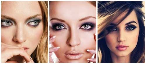 El secreto de los smokey eyes perfectos collage