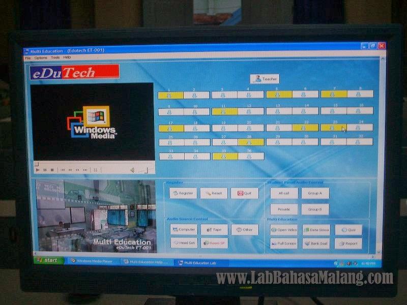 lab bahasa multimedia multi education