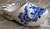 Sepatu Holland Delft Blauw made in Holland