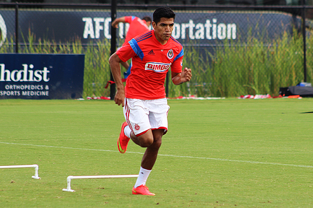 'Chapo' argumentó que poco a poco está tomando el nivel que busca para mantenerse titular en un equipo como Chivas.