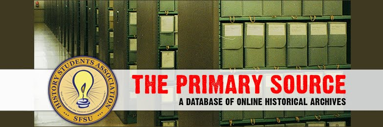 The Primary Source: A Database of Online Historical Archives