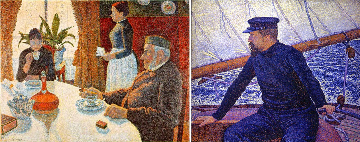 schildertechniek eind 19e eeuw