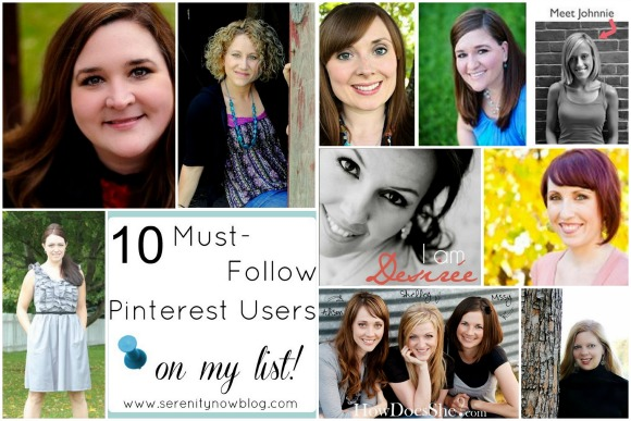 Must-Follow Pinterest Profiles, from Serenity Now