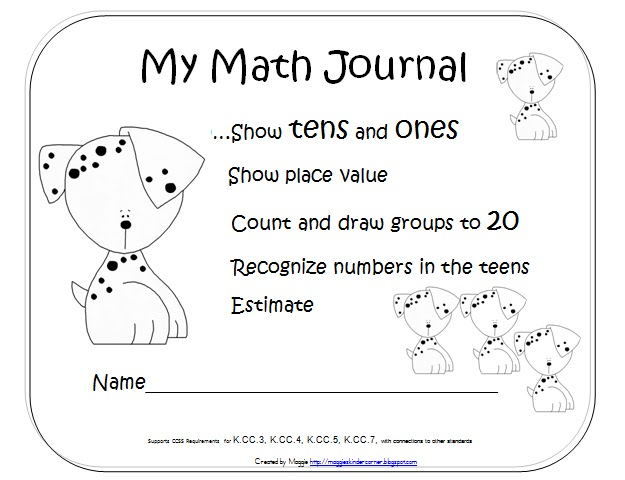 Math Journal 2 Numbers 11-20