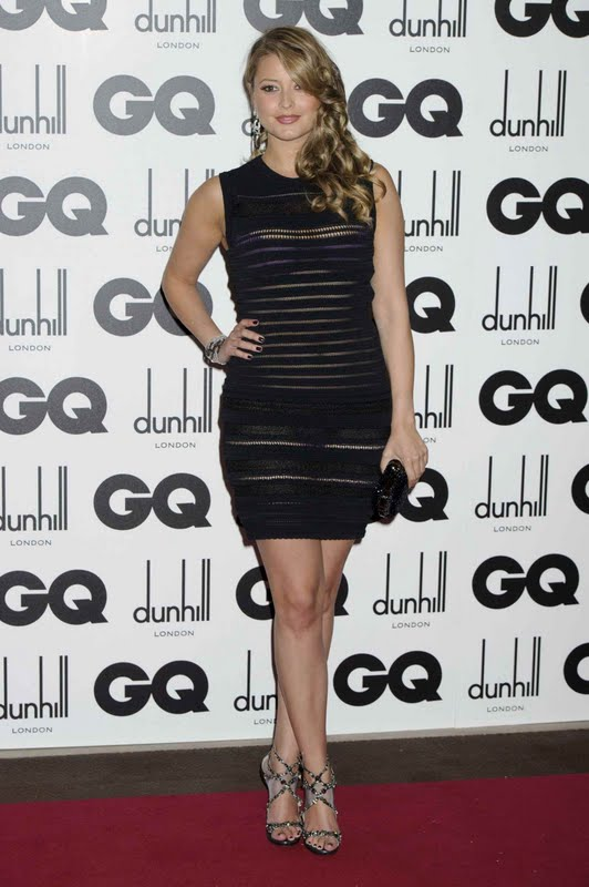 Holly Valance at 2011 GQ Men of the Year Awards