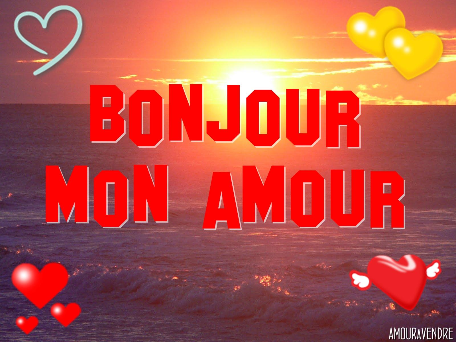 SMS d\'amour Bonjour à son amour   les meilleurs SMS d\'amour 2015