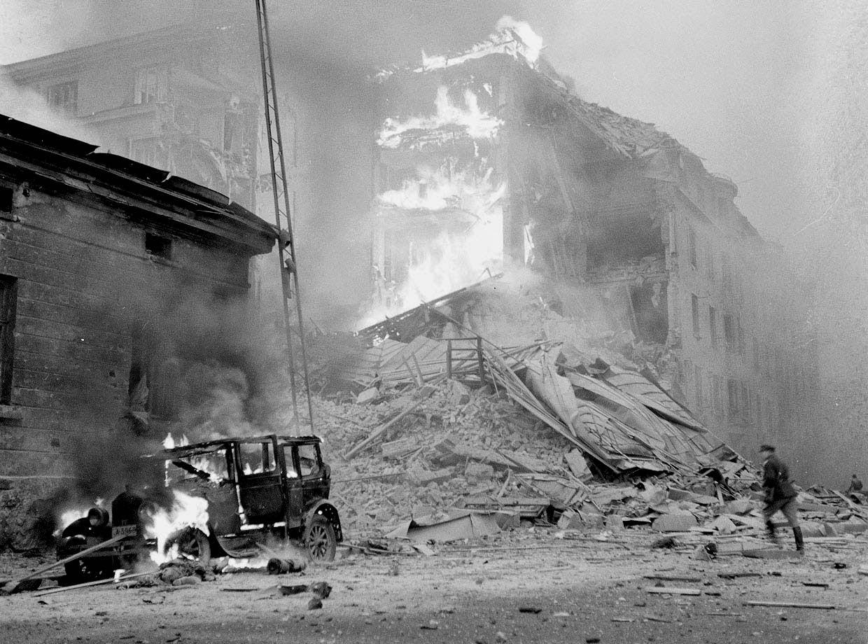 30 ноября 1939 года - Бомбардировка Хельсинки