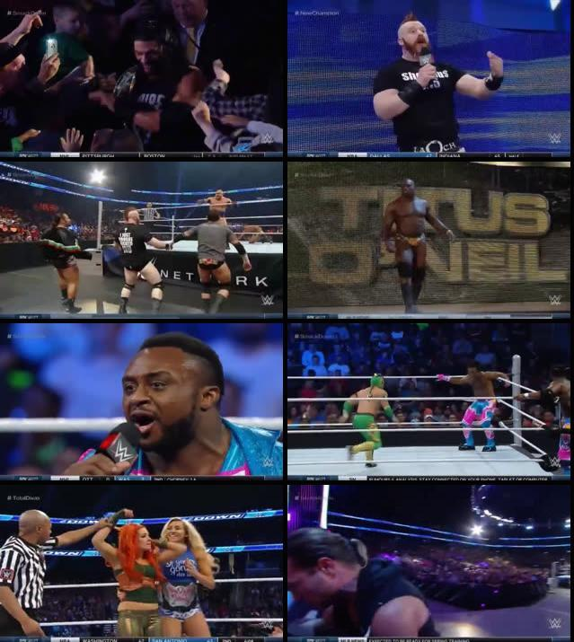 WWE Thursday Night Smackdown 17 Dec 2015 HDTV 480p