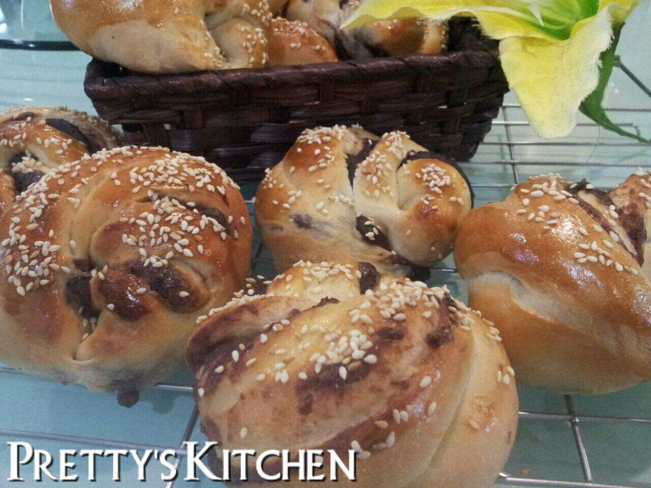 how to make red bean paste buns