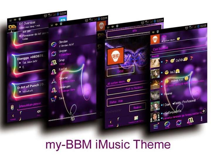 Update my-BBM Mod Tema I-Music V2.7.0.23