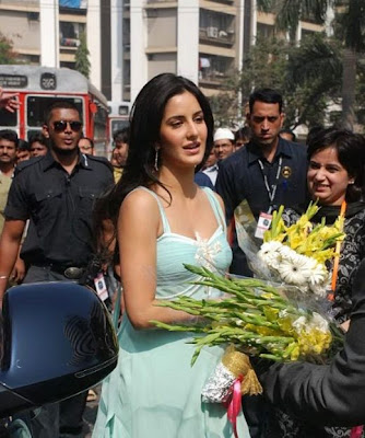 Katrina Kaif in Chadan Sparsh Spa