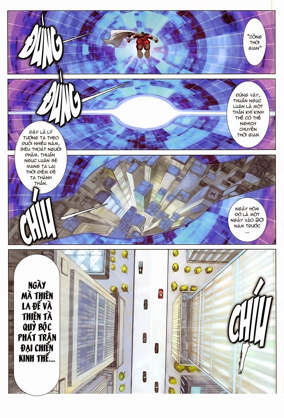 Ba Động Quyền Z Hadouken Zero chap 15 - Trang 4