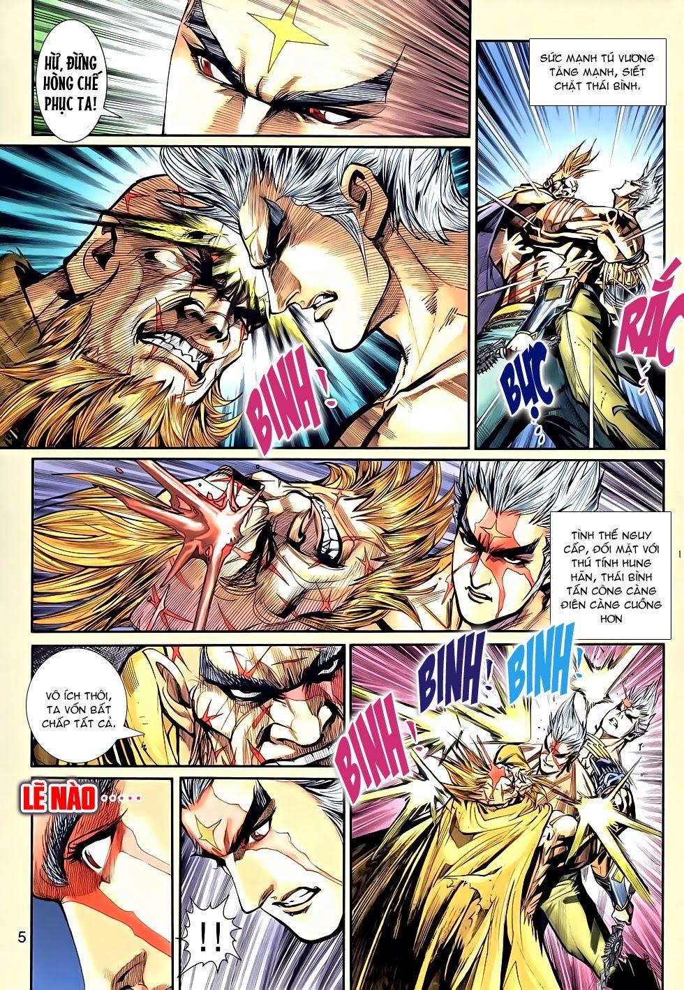 Thần Binh Tiền Truyện 2 chap 21 Trang 5 - Mangak.info