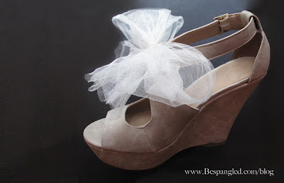 Easy DIY Bridal Shoe Hack - 3 ways {video)