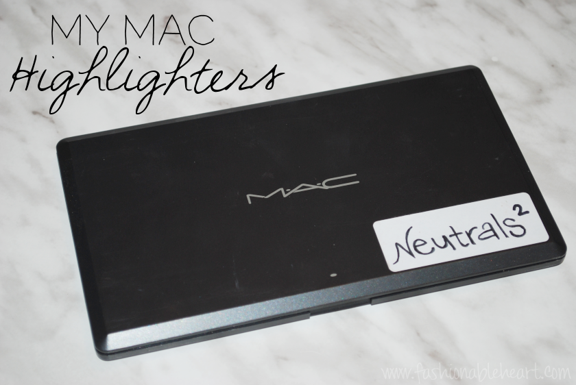 mac cosmetics eyeshadows swatches highlights