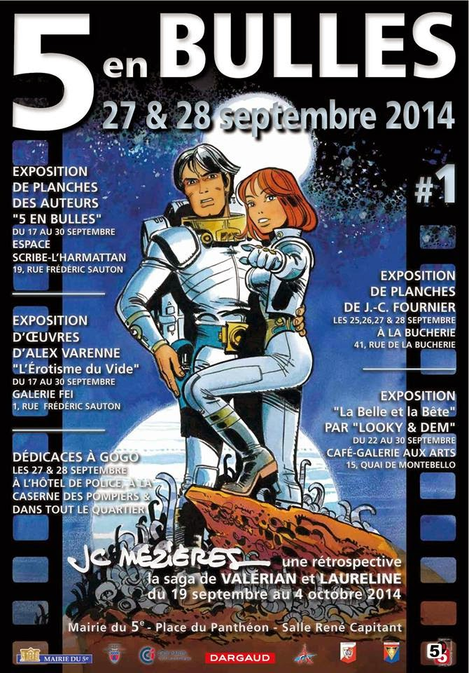 Parcours BD 5 en Bulles, Paris 5ème : + d'infos