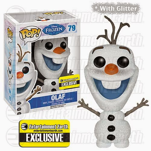 Glitter Olaf (Entertainment Earth)